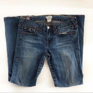 True religion petite Becky denim jeans size 30